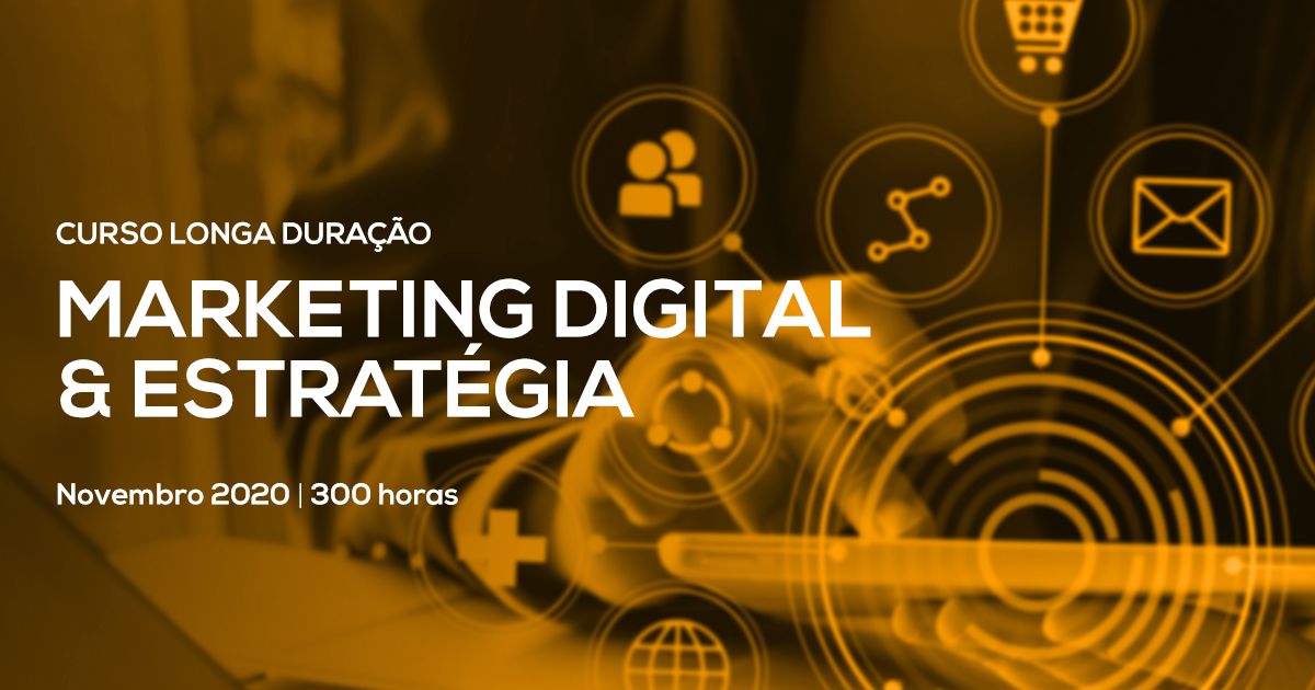 Curso Especializado de Marketing Digital & Estratégia – Presencial