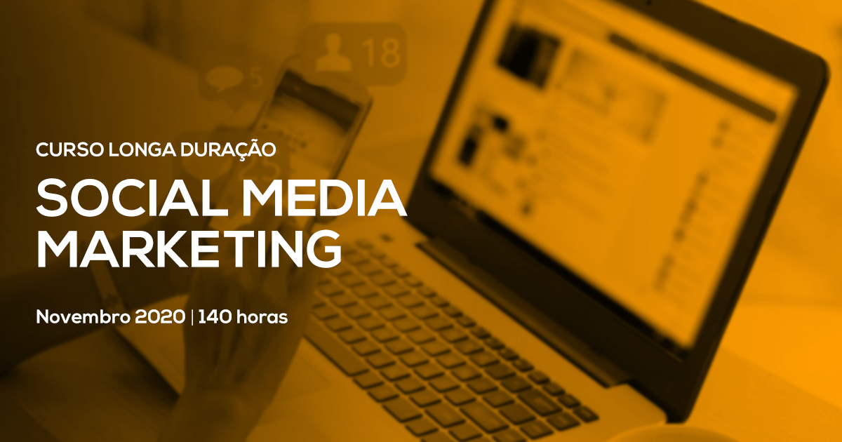 Curso Especializado de Social Media Marketing – Presencial