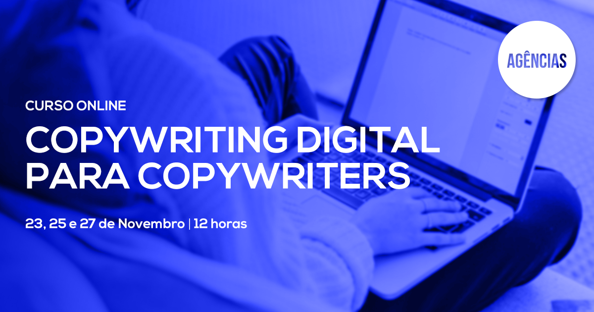 Curso de Copywriting Digital para Copywriters – Online em Directo