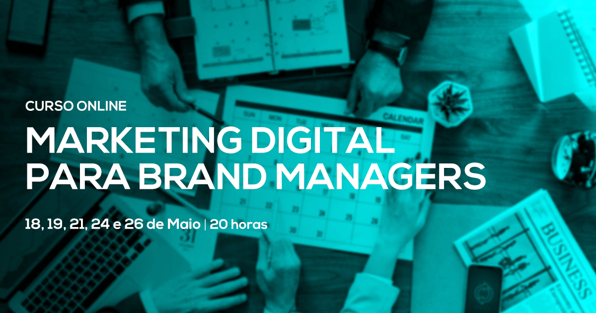 Marketing Digital para Brand Managers  – Online em Directo