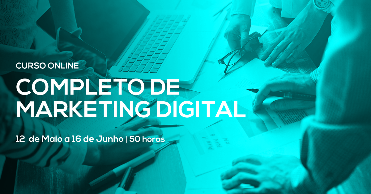 Curso Completo de Marketing Digital – Online Em Directo
