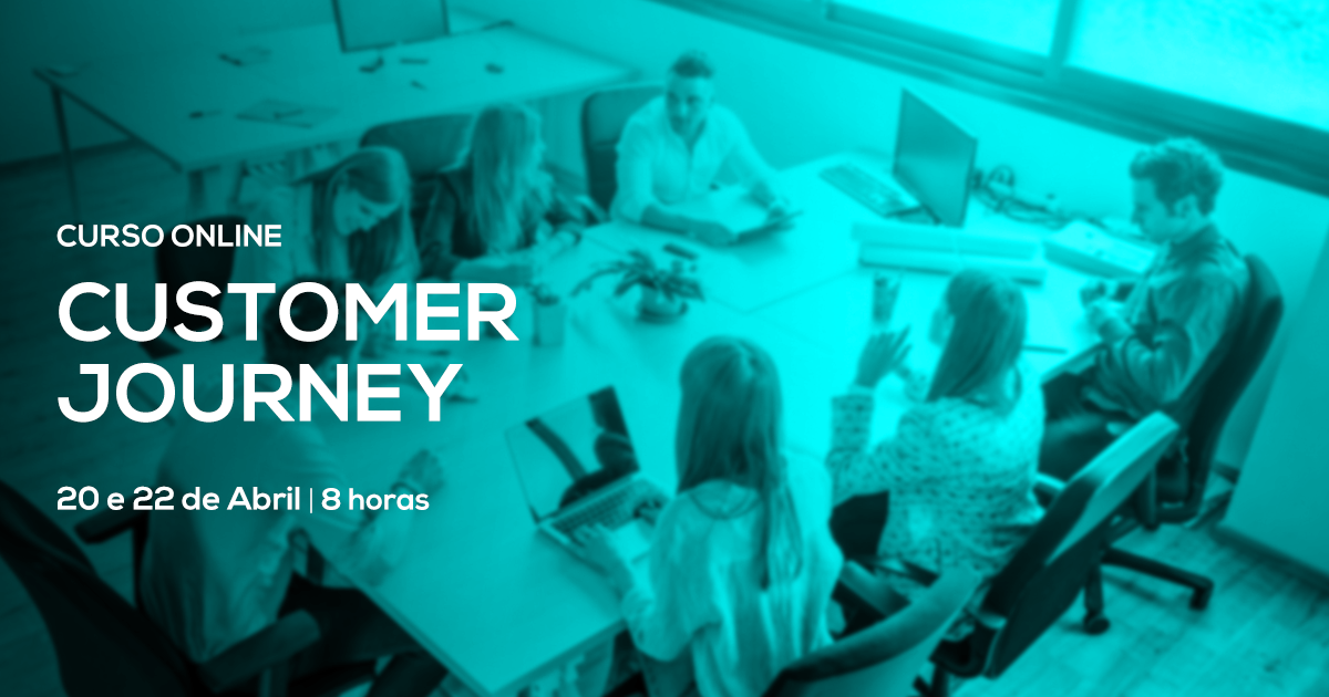 Curso de Customer Journey de 8h – Online em Directo