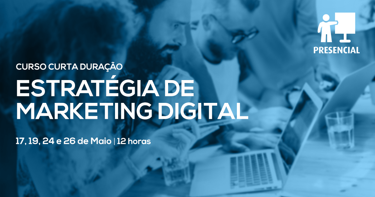 Curso de Estratégia de Marketing Digital – Online em Directo